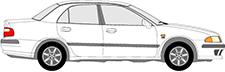 CARISMA Sedan (DA_)