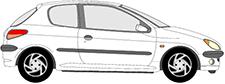 206 Viistoperä (2A/C)