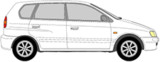 SPACE STAR Tila-auto (DG_A)